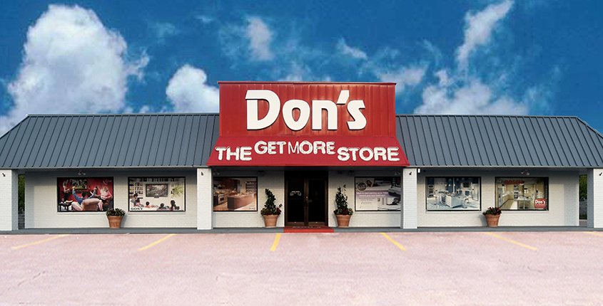 don's tv and appliance storefront